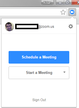 Zoom Conferencing - Chrome Browser Extension | Technology