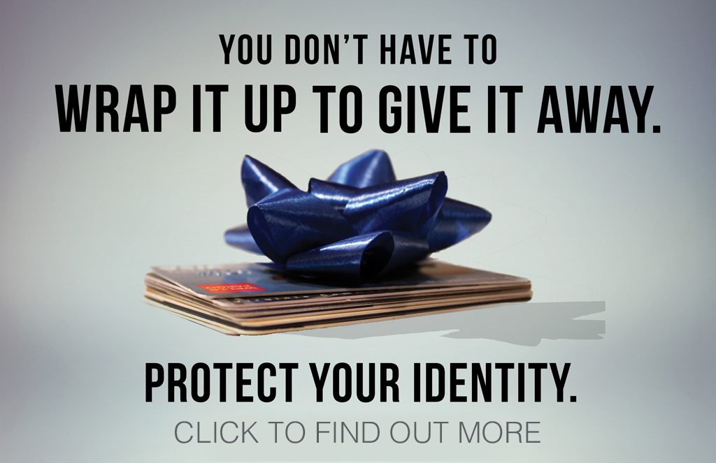 You do not have to wrap it up to give it away Protect your identity